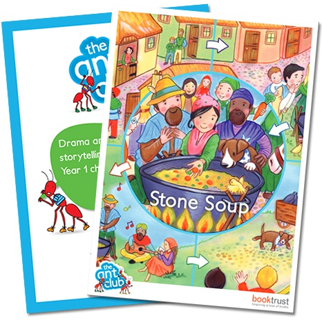 Stories for drama - stone soup - Year 1